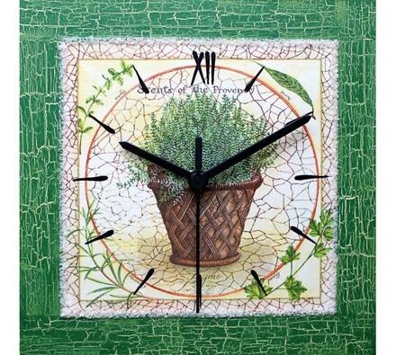 Nástěnné hodiny tymián