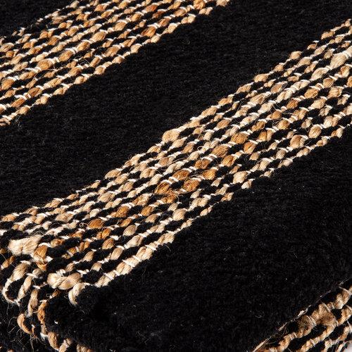 Szőtt szőnyeg Juta vonalak, 120 x 180 cm
