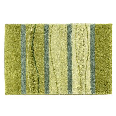 Koupelnová předložka zelená, velká, 60 x 90 cm