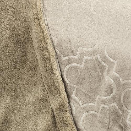 Pătură 4Home Salazar gri, 150 x 200 cm