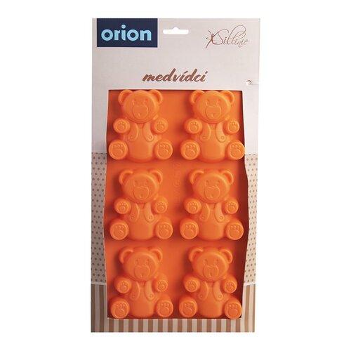 Orion Forma silikonowa MISIE, pomarańczowy