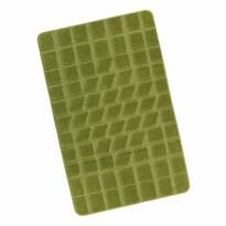 Standard Mech fürdőszobaszőnyeg, zöld, 60 x 100 cm