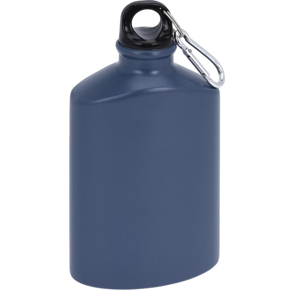 Koopman Sportovní hliníková láhev s uzávěrem 500 ml, grey