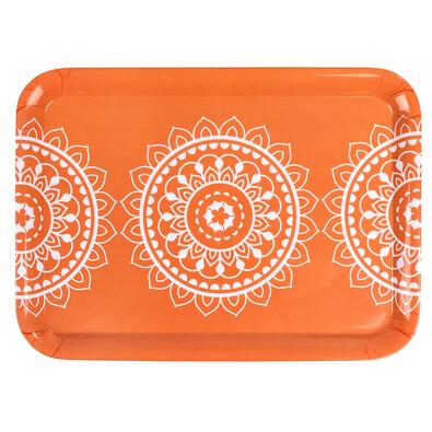Servírovací tác Orient oranžová