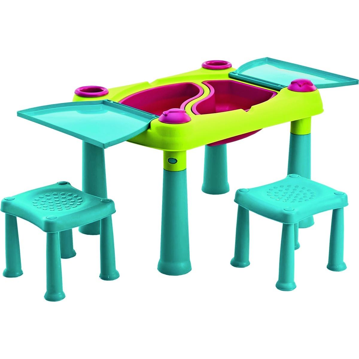 Keter Kreativní hrací stůl se 2 stoličkami