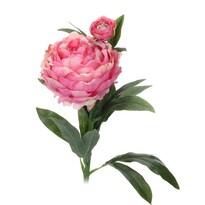 Umělá květina Pivoňka tmavě růžová, 61 cm