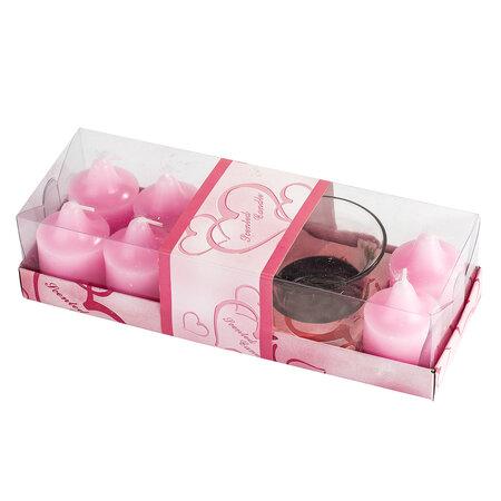 Zestaw podarunkowy zapachowych świeczek i świeczni