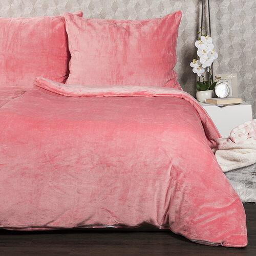 4Home Pościel mikroflanela różowy, 140 x 200 cm, 70 x 90 cm
