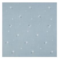Sander Serweta Crystalized niebieski, 85 x 85 cm
