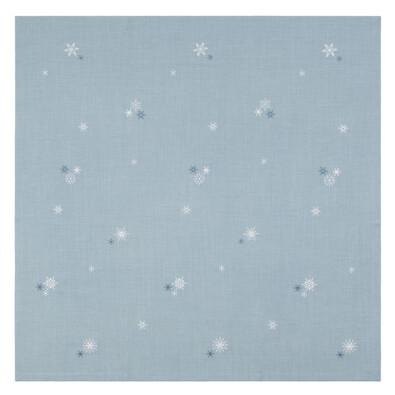 Sander Obrus Crystalized modrá, 85 x 85 cm