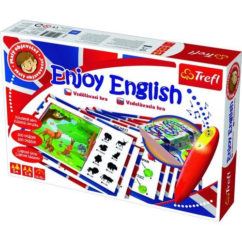 Malý objevitel Hrací set Enjoy English s magickým perem