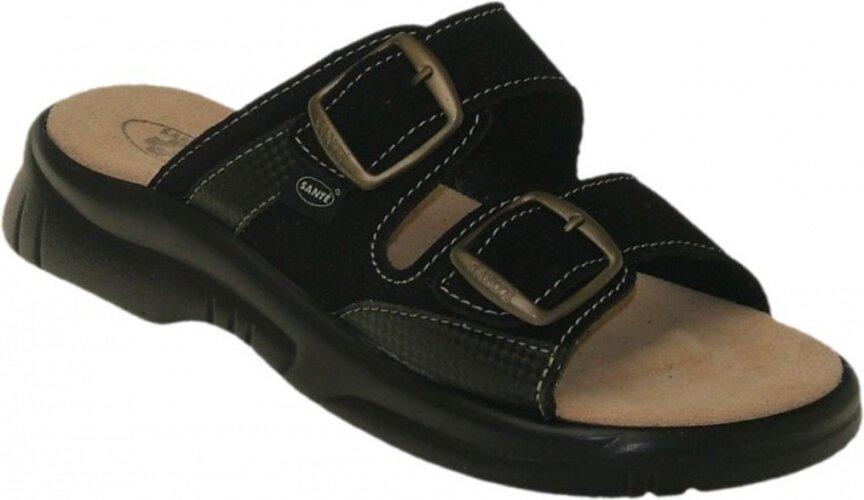 Dámske zdravotné papuče Santé, čierna, 41