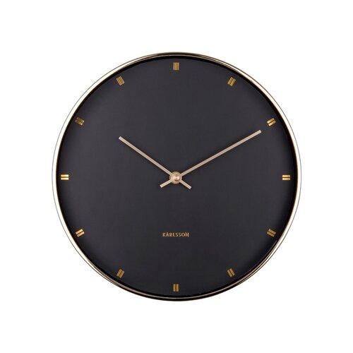 Karlsson KA5776BK Designové nástěnné hodiny, 27 cm