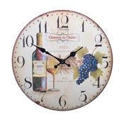 Nástěnné hodiny Víno HLC143036