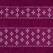 Osuška Vanesa fialová, 70 x 140 cm
