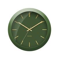Karlsson KA5840GR Designové nástěnné hodiny, 40 cm