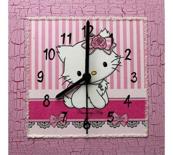 Hodiny Hello Kitty