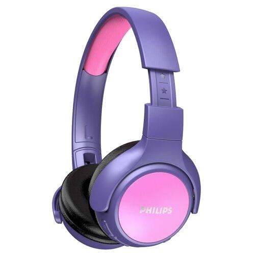 Philips TAKH402PK/00 bezdrôtové Bluetooth slúchadlá pre deti, 3,5 x 16 x 15 cm