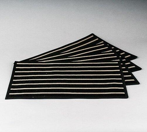 Prestieranie Natur, sada 4 kusov, 30x45 cm, čierna