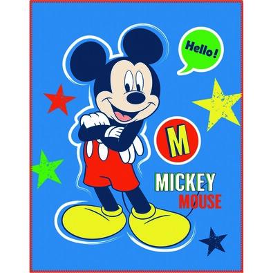 Detská deka Mickey Mouse Expressions, 110 x 140 cm