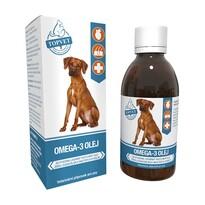 Topvet Omega-3 olej, 200 ml