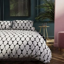 DecoKing Obliečky Hypnosis Rhombuses, 200 x 220 cm, 2 ks 70 x 90 cm