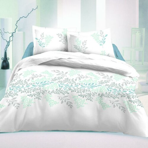 Kvalitex saténové povlečení Victoria bílá Luxury Collection, 140 x 220 cm, 70 x 90 cm