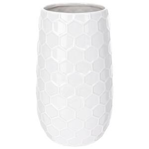 Keramická váza Honey, bílá
