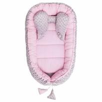 Belisima Hnízdečko pro miminko Minky Sweet Baby, růžová