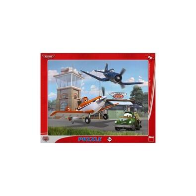 Puzzle Letadla v oblacích Dino Toys, 40 dílků