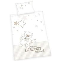 Jana gyermek pamut ágynemű kiságyba Lieblings, 100 x 135 cm, 40 x 60 cm