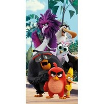 Angry Birds movie törölköző, 70 x 140 cm
