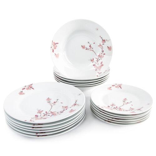 Sakura 18 részes étkészlet