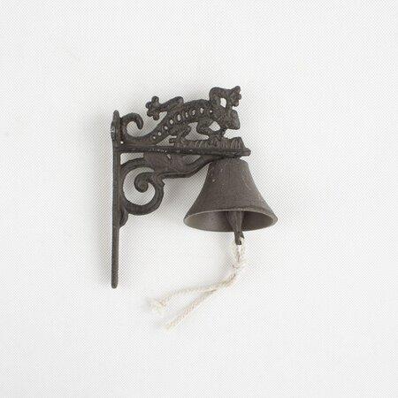 Clopot din fontă, Şopârlă, 19 cm