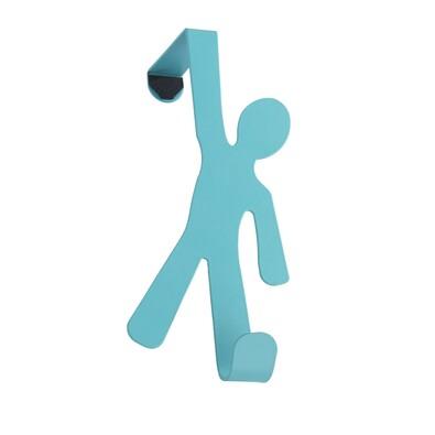 Wenko věšák na dveře modrá