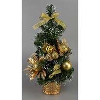Vánoční stromek Vestire zlatá, 35 cm
