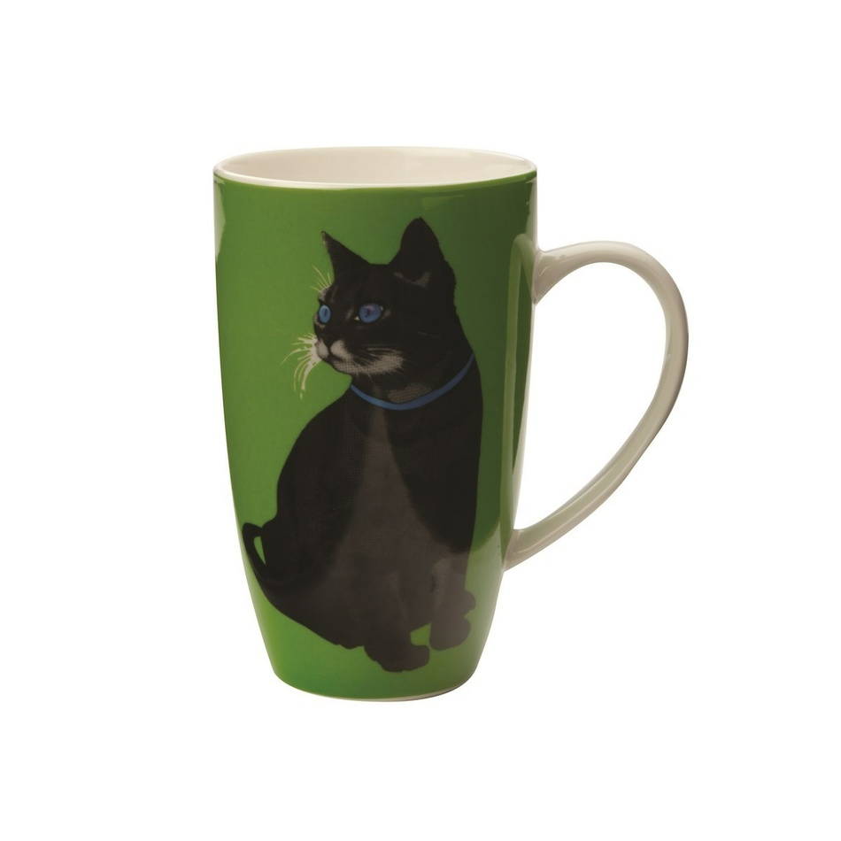 Maxwell & Williams Hrnek Claws Coupe Mug, zelená