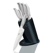 Berlinger Haus 6-częściowy zestaw noży w stojaku Deep Blue Metallic Line