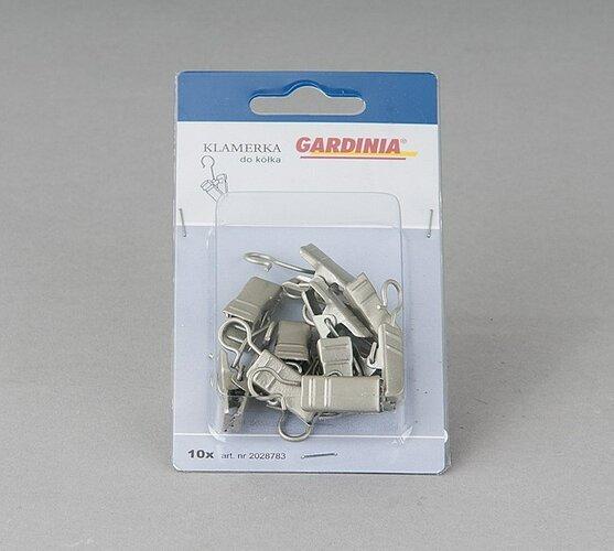 Háčky se žabičkou kovové, 10 ks, stříbrné satén