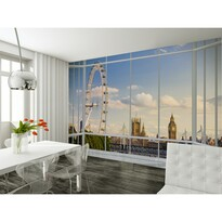 Fototapeta Blue London, 232 x 315 cm