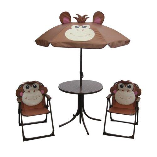 Happy Green Detský kempingový set Monkey