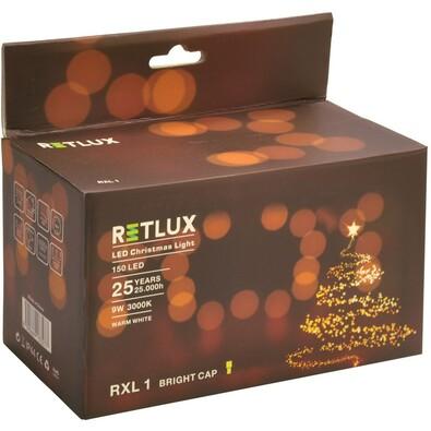 Vánoční osvětlení RXL 1, 150 LED, Retlux, bílá