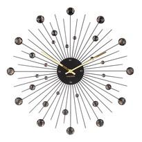 Karlsson 4859BK Designowy zegar ścienny, 50 cm