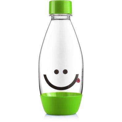 SodaStream Butelka dziecięca Emotikona 0,5 l, zielony