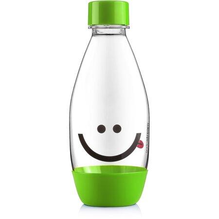 SodaStream Dětská láhev Smajlík 0,5 l, zelená
