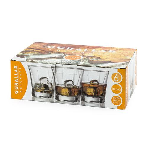 TRUVA Sada pohárov 280 ml, 6ks