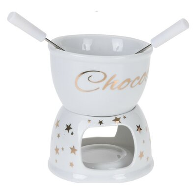 Set fondue de ciocolată Koopman Stars