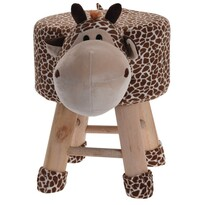 Koopman Dětský taburet Žirafa, 25 x 45 x 35 cm