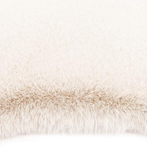 Műszőrme szőnyeg Catrin lazac, 60 x 90  cm