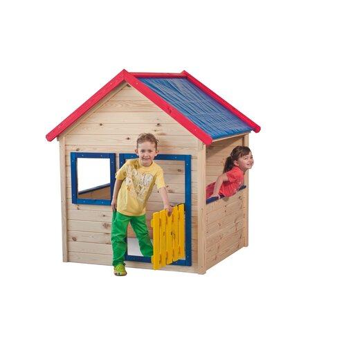 Woody Zahradní domeček s barevným lemováním